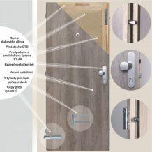 Bezpečnostní dveře vás dokáží ochránit