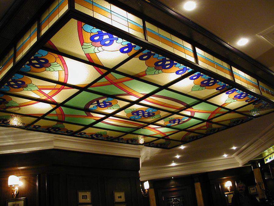 Originální skleněné vitráže