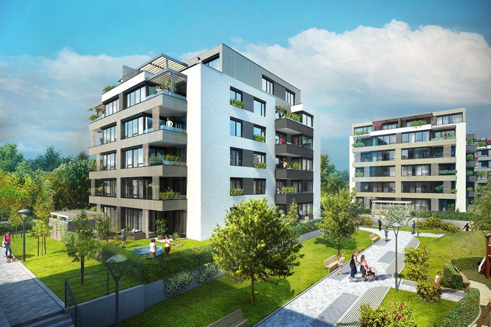 Moderní bydlení v Praze 10