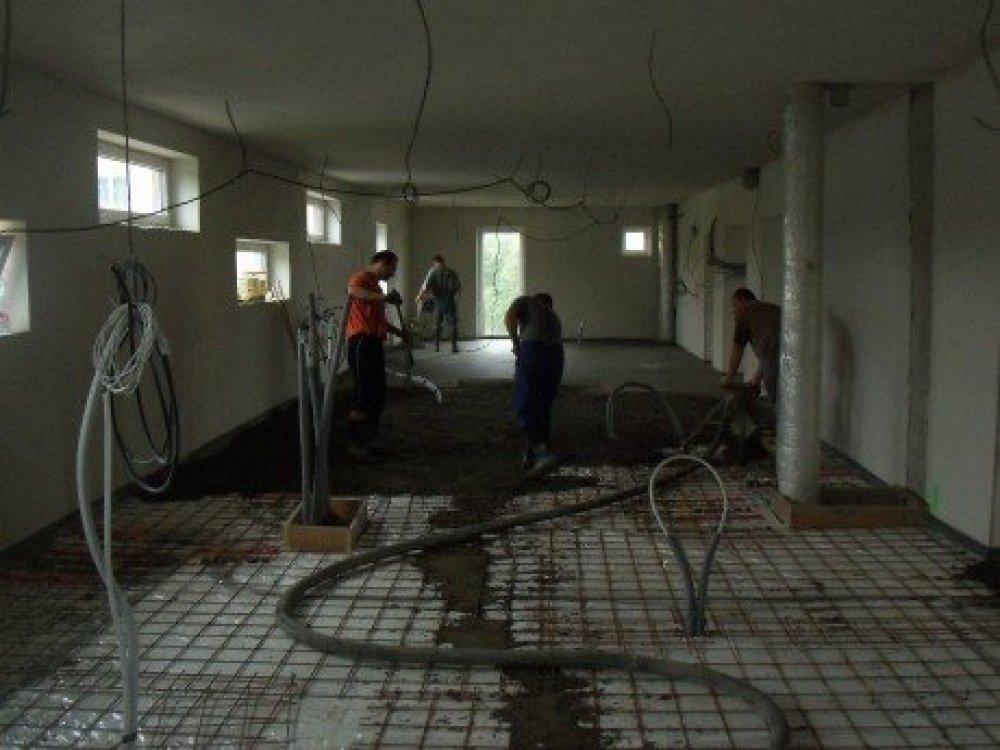 Kvalitní betonové podlahy od firmy URBÁNEK