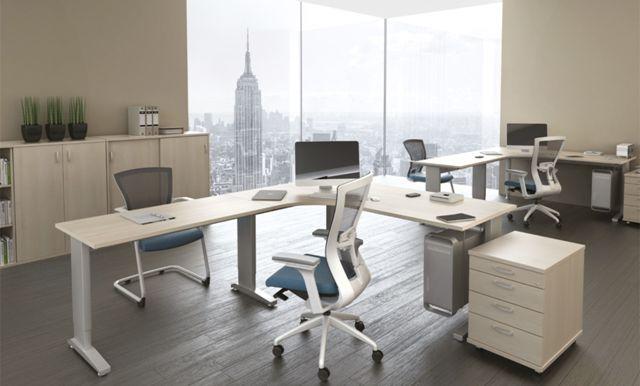 Kancelářský nábytek s 3D návrhem